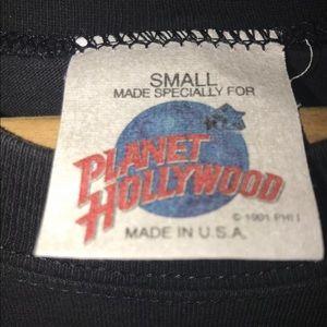planet hollywood Shirts - Vintage 90s Planet Hollywood Australia shirt small